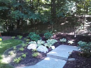 Black Aluminum Ornamental Fence in Holland, Michigan