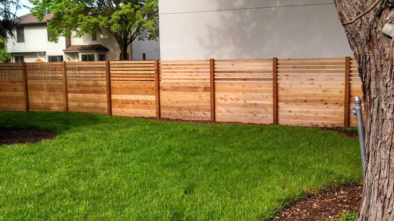 You Dream It We Will Build It Straight Line Fence