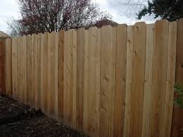 Staggered Fence