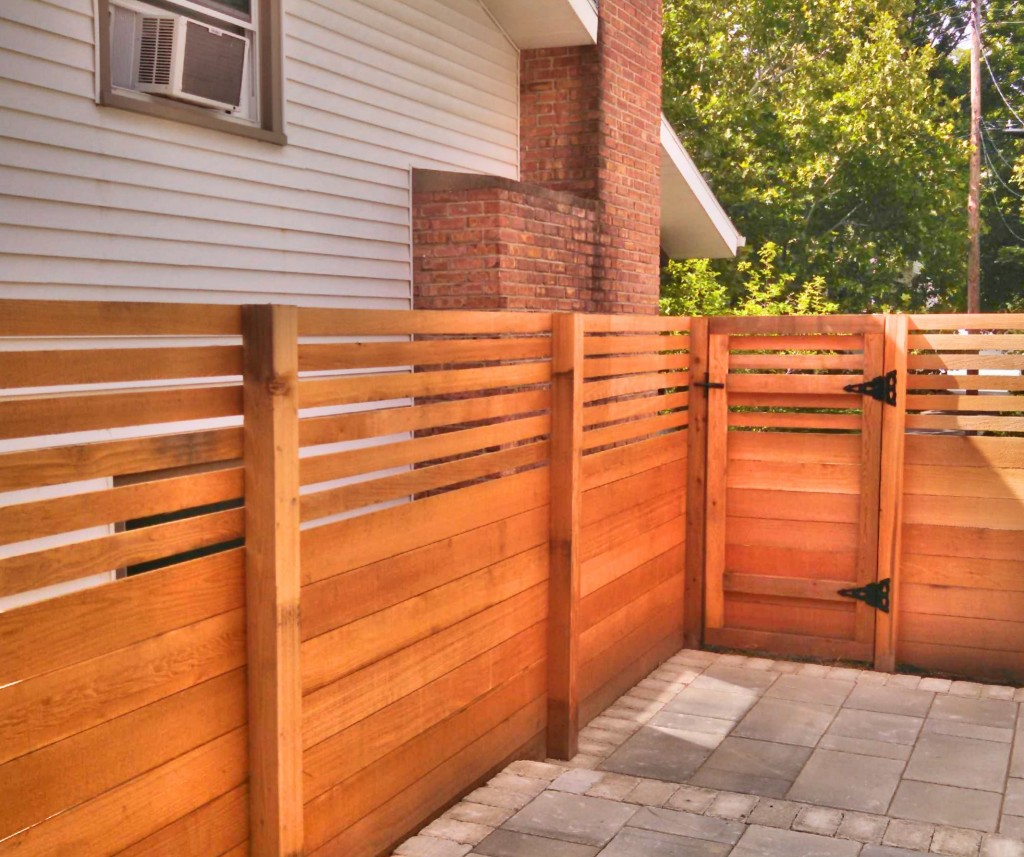 A Guide To Different Types Of Wood For Fencing Straight Line Fence