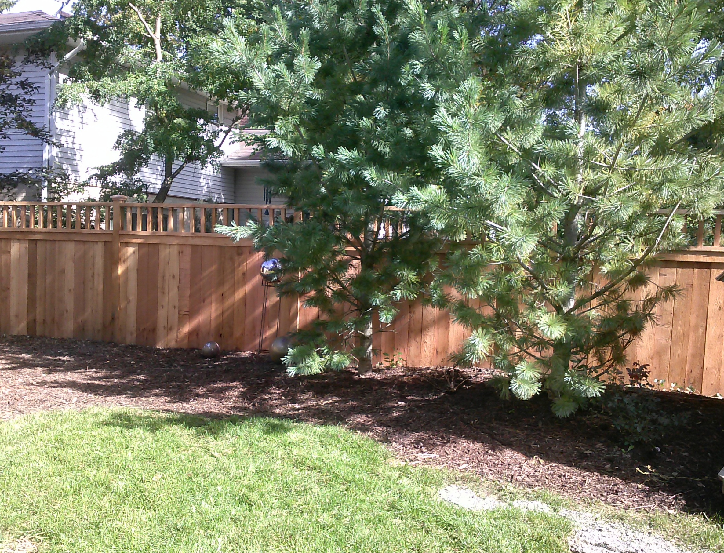 custom wood fence projects of 2017 straight line fence