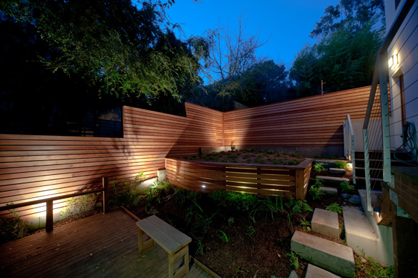 Is It Possible To Light Up Your Fence Straight Line Fence